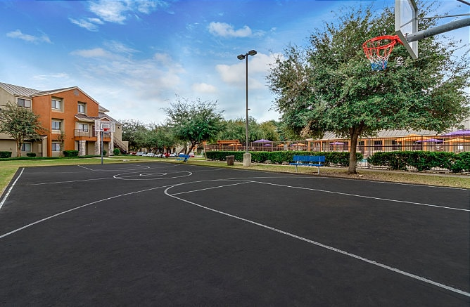 Basketball Court at Maverick Creek Apartments