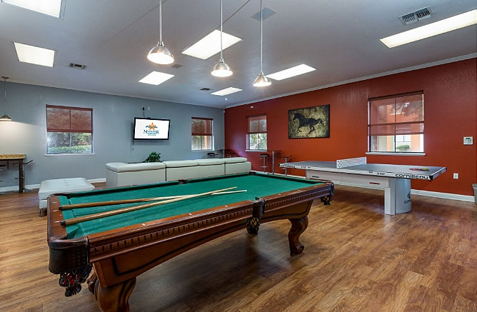 Pool Table at Maverick Creek Apartments